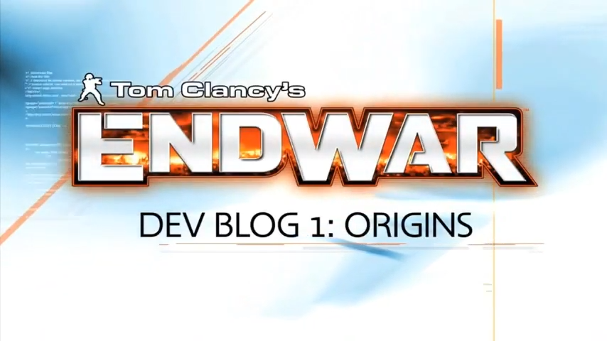 Tom Clancy's Endwar Developer Diary_ Origins 0-11 screenshot